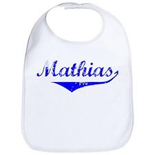 Mathias Vintage (Blue) Bib