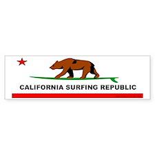 California Bear Bumper Bumper Sticker