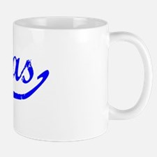 Matias Vintage (Blue) Mug