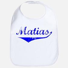 Matias Vintage (Blue) Bib