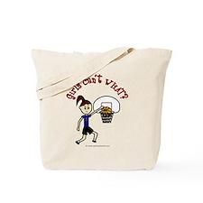 Megan-Basketball Tote Bag