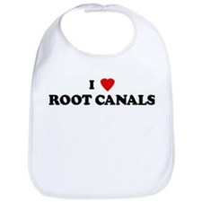 I Love ROOT CANALS Bib