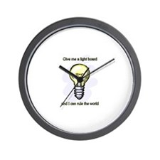 Give me a Light Board... Wall Clock