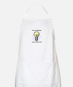 Give me a Light Board... BBQ Apron
