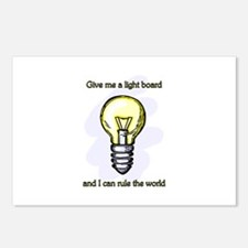 Give me a Light Board... Postcards (Package of 8)