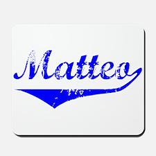Matteo Vintage (Blue) Mousepad