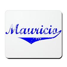 Mauricio Vintage (Blue) Mousepad