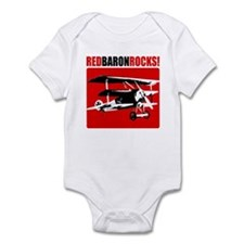 Red Baron Rocks! Infant Bodysuit