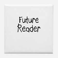 Future Reader Tile Coaster