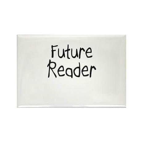 Future Reader Rectangle Magnet