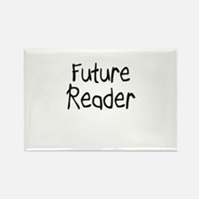 Future Reader Rectangle Magnet