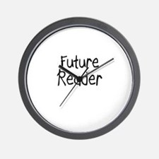 Future Reader Wall Clock