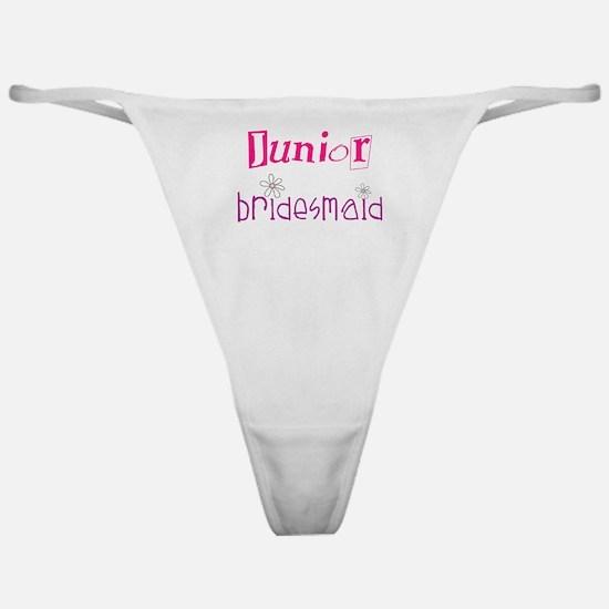 Junior Bridesmaid Classic Thong