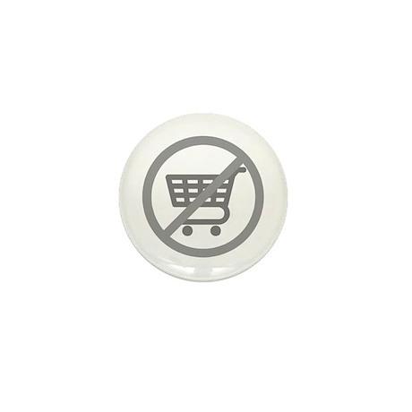 No Consumer Society Mini Button (10 pack)