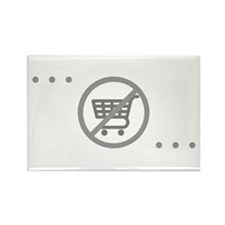No Consumer Society Rectangle Magnet (10 pack)