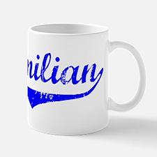 Maximilian Vintage (Blue) Small Small Mug