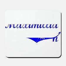 Maximillian Vintage (Blue) Mousepad