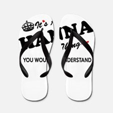 HANNA thing, you wouldn't understand Flip Flops