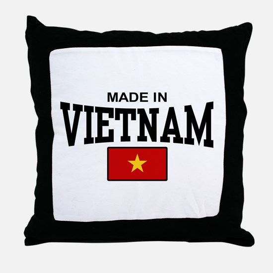 Made in Vietnam Throw Pillow