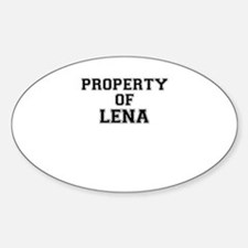Property of LENA Decal