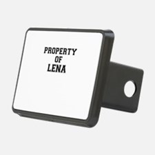 Property of LENA Hitch Cover