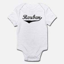 Reuben Vintage (Black) Infant Bodysuit