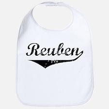 Reuben Vintage (Black) Bib