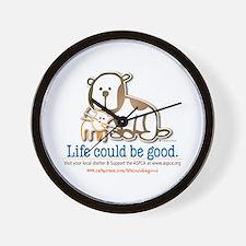 Life Could be Good Wall Clock