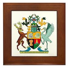 Queensland Coat of Arms Framed Tile