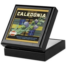 Caledonia Brand Vintage Crate Label Keepsake Box