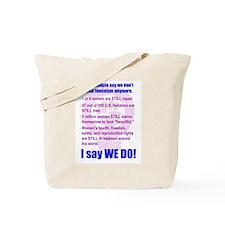 Unique Feminist fist Tote Bag