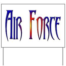 Air Force Yard Sign