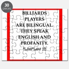 Billiards joke Puzzle