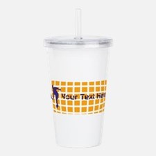 Tennis Fan Wear Acrylic Double-wall Tumbler