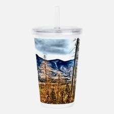 Montana Fall Acrylic Double-wall Tumbler