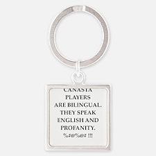 Canasta joke Keychains