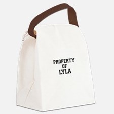Property of LYLA Canvas Lunch Bag