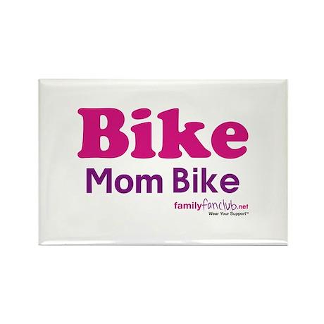 Bike Mom Bike Rectangle Magnet (10 pack)