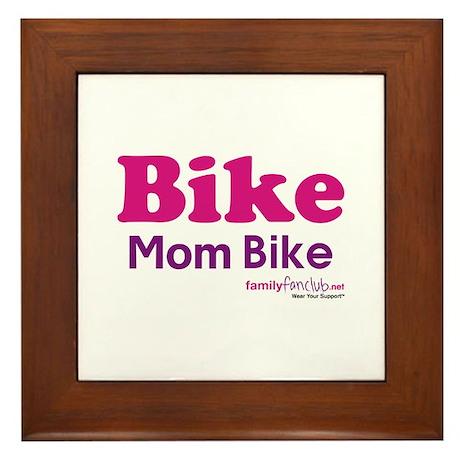 Bike Mom Bike Framed Tile