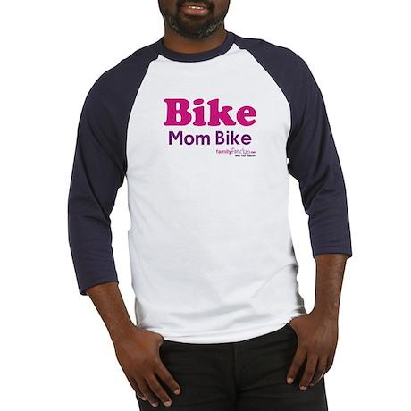 Bike Mom Bike Baseball Jersey