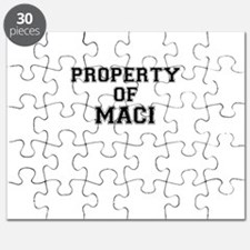 Property of MACI Puzzle