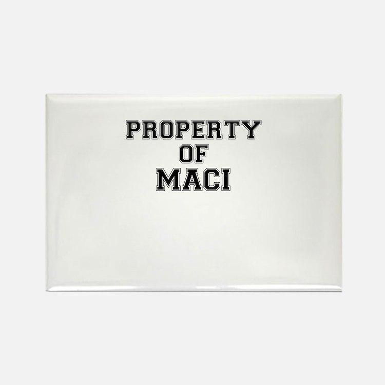 Property of MACI Magnets