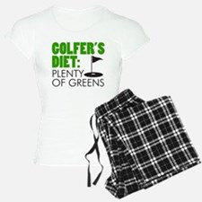 Golfer's Diet: Plenty Of Greens Pajamas