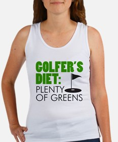 Golfer's Diet: Plenty Of Greens Tank Top