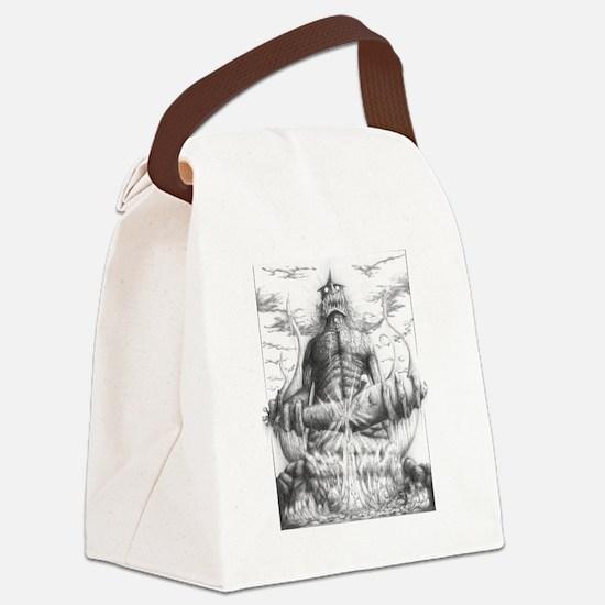 Unique Horrific Canvas Lunch Bag