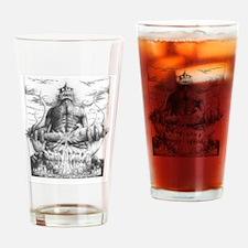 Cute Horrific Drinking Glass