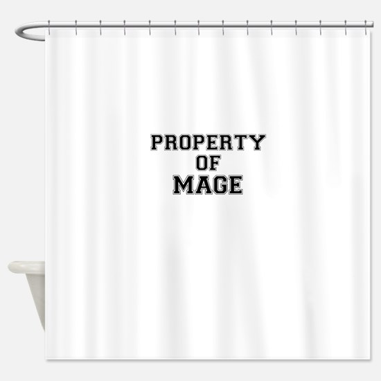 Property of MAGE Shower Curtain