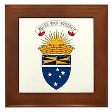 Ashfield Coat of Arms Framed Tile