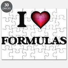 I love Formulas Puzzle