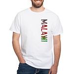 Malawi Stamp White T-Shirt